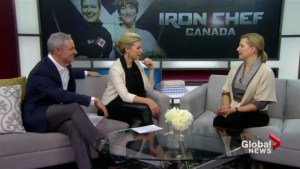 Chef Anna Olson brings a softer side to the Iron Chef Canada experience